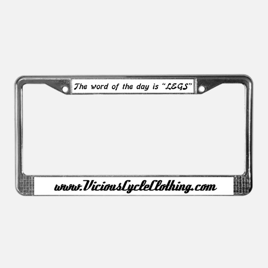 THE WORD OF THE DAY License Plate Frame