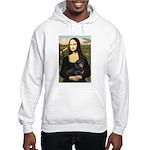 Mona Lisa/Dachshund (BT4) Hooded Sweatshirt