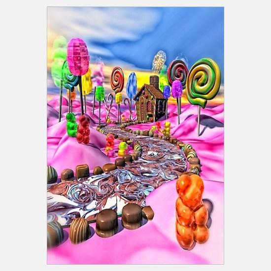 Pink Candyland Wall Art