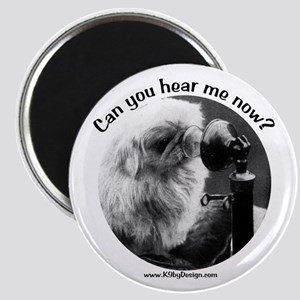 Can you hear me now? Magnet