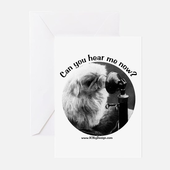 Can you hear me now? Greeting Cards (Pk of 10)
