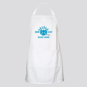 Blue Personalized Junior SHIELD Agent Apron