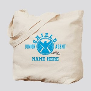 Blue Personalized Junior SHIELD Agent Tote Bag