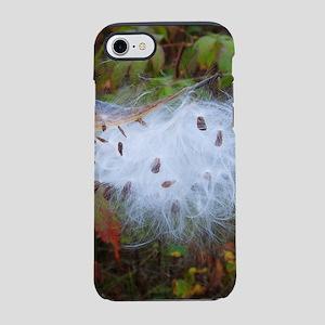 Milkweed Pod Burst iPhone 7 Tough Case
