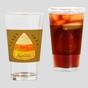 Sweet Autumn - Candy Corn Drinking Glass
