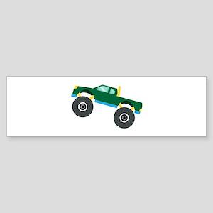 Monster Truck Bumper Sticker