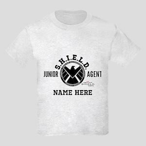Personalized Junior SHIELD Agen Kids Light T-Shirt