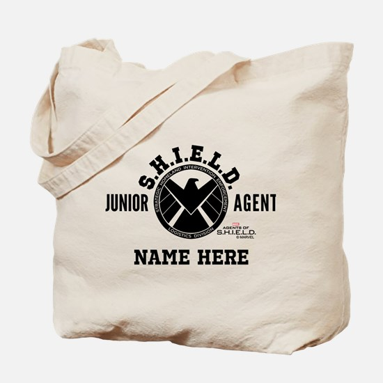 Personalized Junior SHIELD Agent Tote Bag