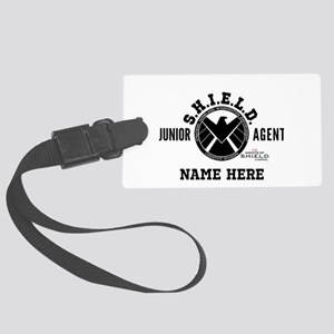 Personalized Junior SHIELD Agent Large Luggage Tag