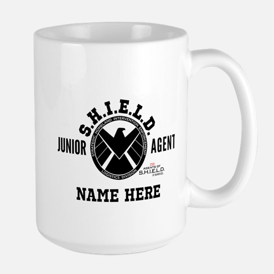 Personalized Junior SHIELD Agent Large Mug