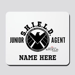 Personalized Junior SHIELD Agent Mousepad