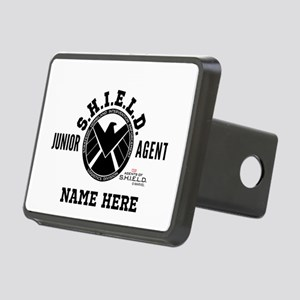 Personalized Junior SHIELD Rectangular Hitch Cover
