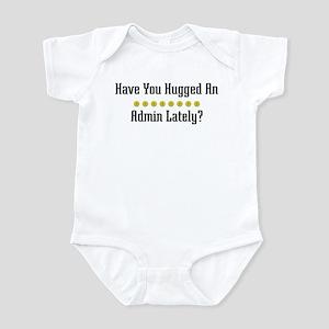 Hugged Admin Infant Bodysuit