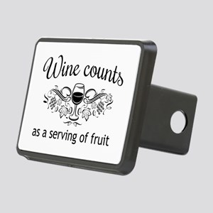 Wine counts as a serving of fruit Hitch Cover