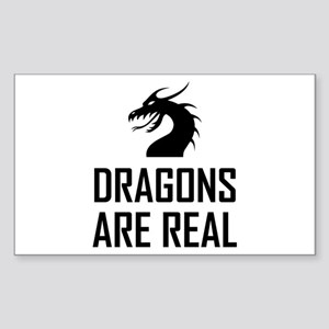 Dragons Are Real Fantasy Sticker
