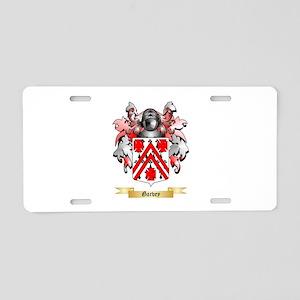 Garvey Aluminum License Plate