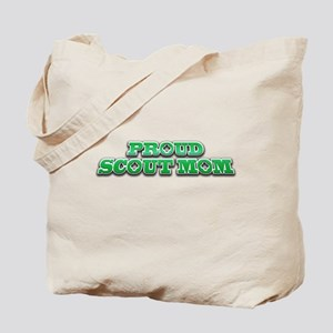 Proud Scout Mom Tote Bag