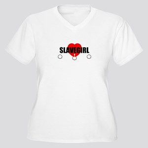 Slave Rings Women's Plus Size V-Neck T-Shirt