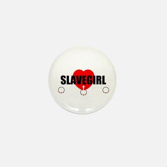 Slave Rings Mini Button
