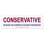 Conservative Bumper Sticker
