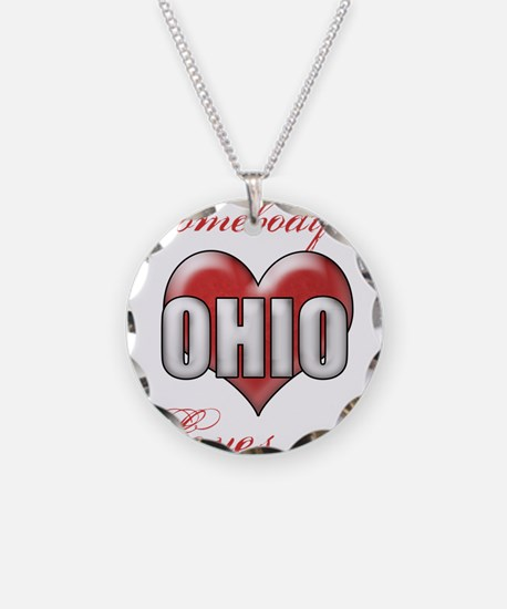 Somebody In Ohio Loves Me Necklace