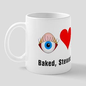 Eye Heart Squirrel Mug