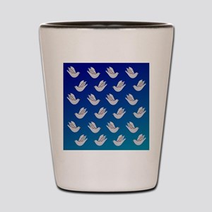 Peace Doves Shot Glass