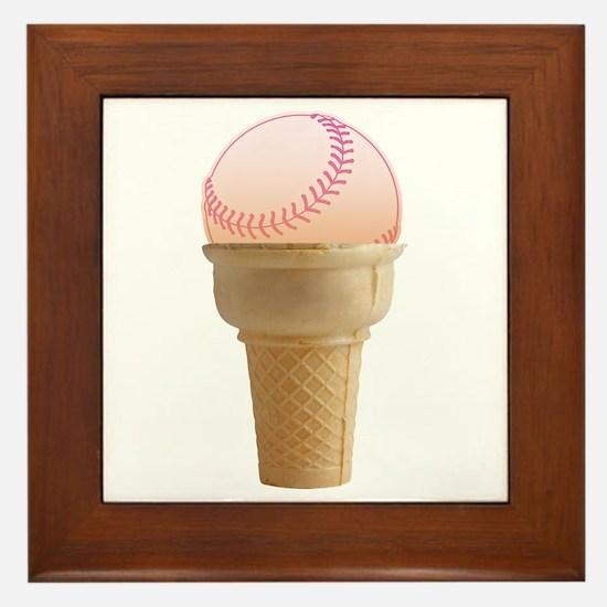 Perfect Summer - Pink Framed Tile