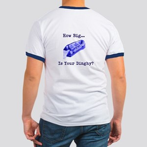 Captain Blackfoot How Big Is Your Dinghy? T-Shirt