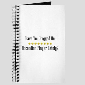 Hugged Accordion Player Journal
