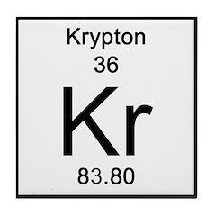 Periodic Table Krypton Tile Coaster