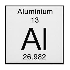 Periodic Table Aluminium Tile Coaster