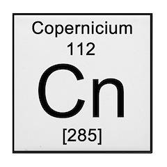 Periodic Table Copernicium Tile Coaster