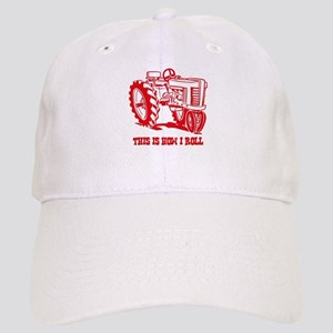 This Is How I Roll Tractor RED Cap