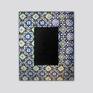 Mexican Tile Design Picture Frame