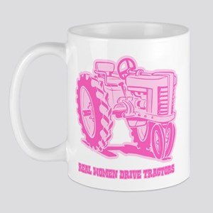 Real Women Drive Tractors Mug