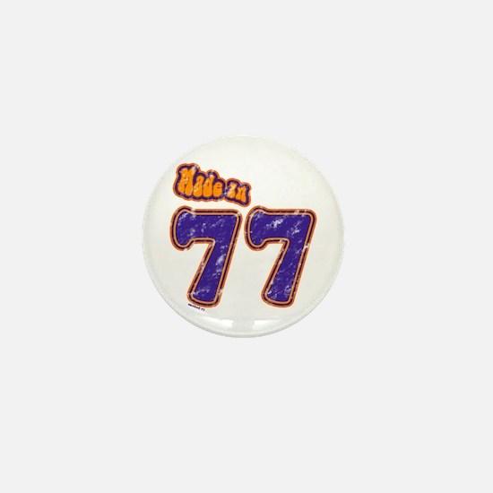 Made in 77 Mini Button