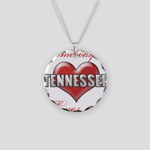 Somebody In Tennessee Loves Necklace Circle Charm