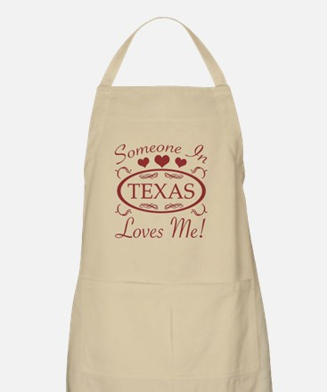 Somebody In Texas Loves Me Apron