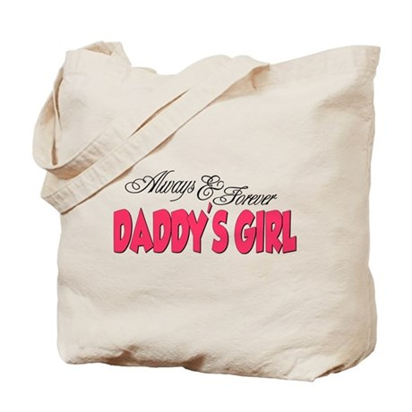 Always & Forever Daddy's Girl Tote Bag