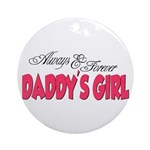 Always & Forever Daddy's Girl Ornament (Round)