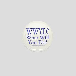 WWYD? Mini Button