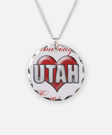Somebody In Utah Loves Me Necklace