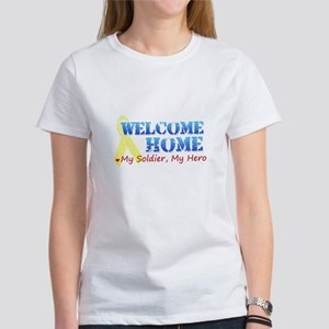 Welcome Home- My Soldier My H Women's T-Shirt