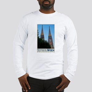 Votivkirche Night Long Sleeve T-Shirt
