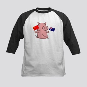AUSTRALIA AND CHINA Kids Baseball Jersey