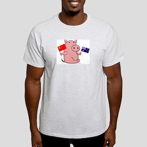 AUSTRALIA AND CHINA Light T-Shirt