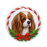 King george cavalier spaniel Round Ornaments