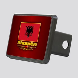 Albanian Flag Hitch Cover