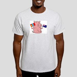 AUSTRALIA AND MONGOLIA Light T-Shirt